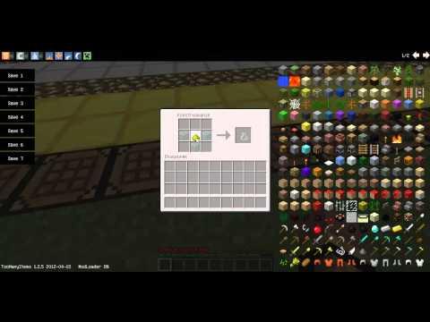01# Minecraft t[w]o Modyfikacje: Xp Bottle Crafting Recipe [1.2.5]