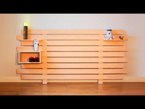 DIY Modular Headboard - Woodworking