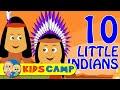 Ten Little Indians Nursery Rhymes Popular Nursery Rhymes By