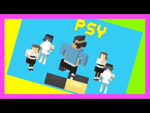 DANCE with ☆ PSY ☆ Crossy Road - New Korean Dance Mode. Great Fun!