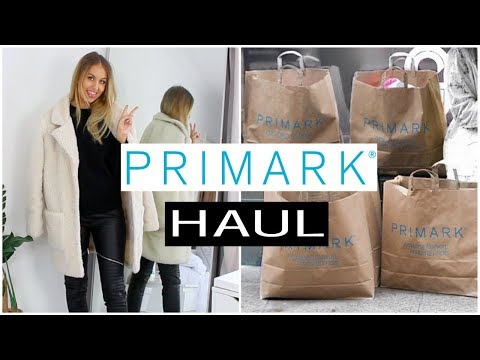 WINTER PRIMARK HAUL - NOVEMBER 2017 & TRY ON