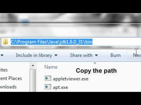 RSBot: Fixing the javac error [Environment variables]