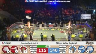 Quarterfinal 4 - 2017 Silicon Valley Regional