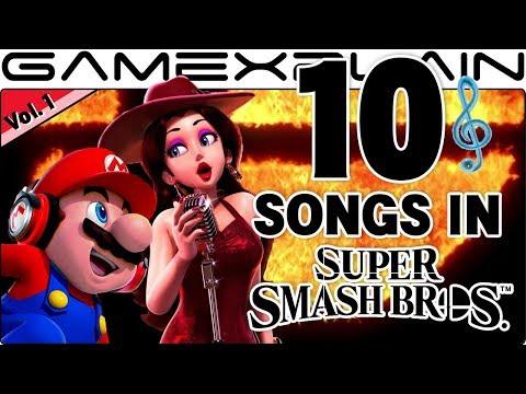 10 Songs to Smash To in Smash Bros. Switch Vol. 1! (Super Mario, Yoshi, & Donkey Kong Series)