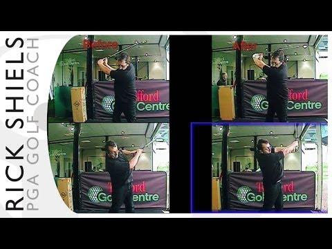 BIGGER Golf Backswing & Arm Extension