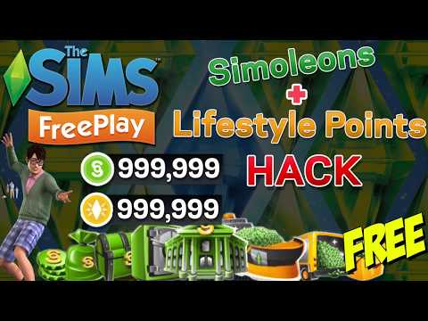 The Sims FreePlay Hack 2018 - LifeStyle Points and Simoleons Hack Android and iOS