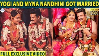 Myna Nandhini and Yogi's Full HD Marriage Video   Yogi-Myna   LittleTalks