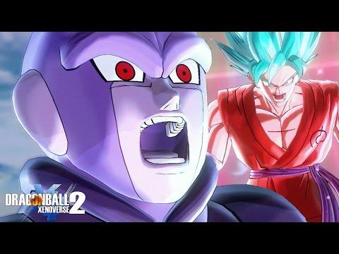 EPIC BATTLE!! Super Saiyan Blue Kaioken Goku vs Awoken Hit! | Dragon Ball Xenoverse 2