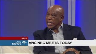 Tokyo Sexwale talking about his views on his party the ANC
