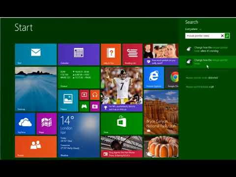 How to Customize the Mouse Pointer in Windows® 8 1