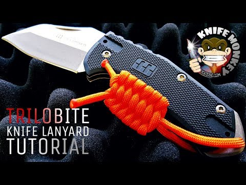 How to Make a Paracord Trilobite Knife Lanyard Key Fob