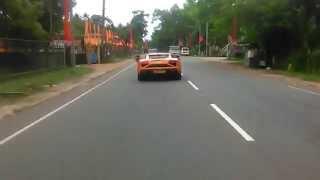 Mahindra centuro bike & Lamborghini car In Sri lanka