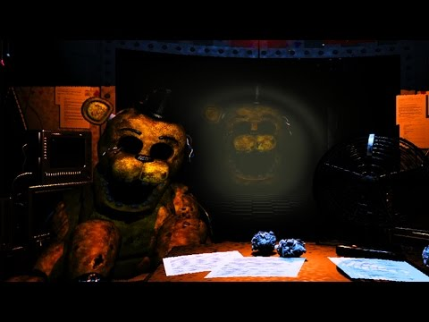 GOLDEN FREDDY- 5 Nights at Freddy's 2 (Night6)