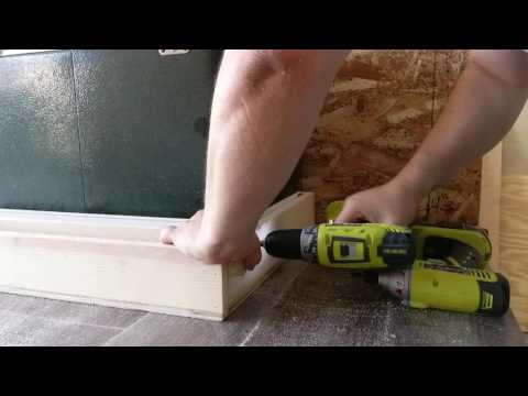 Easy Build Galley Coleman Cooler Drawer Video #6 Teardrop Camper Build video #6