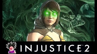 Injustice 2 - ALL Enchantress SAVAGE Intro Dialogues