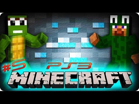 Minecraft Ps3 Gameplay - Part 5/25 - SCOTT'S MOB SPAWNER!! (Playstation 3 Minecraft)