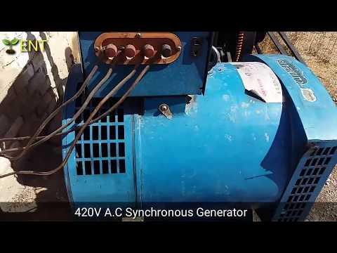 flywheel energy without oil running generator