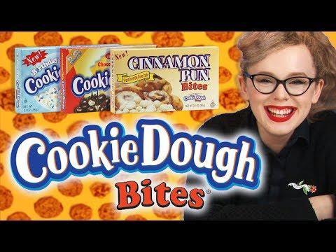 Irish People Taste Test American Cookie Dough Bites