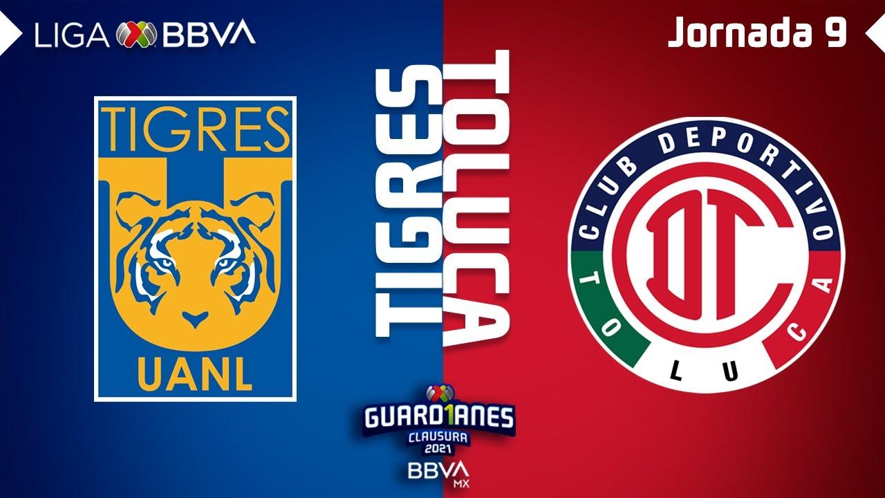 Resumen | Tigres vs Toluca | Liga BBVA MX - Guard1anes 2021 - Jornada 9