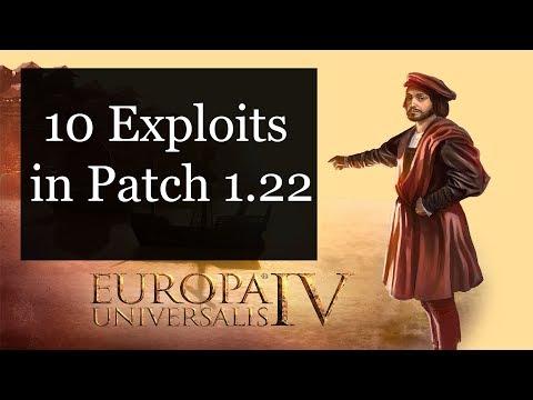 [EU4] 10 Exploits in Patch 1.22
