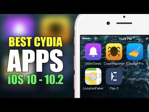 The Best iOS 10 - iOS 10.3.3 Cydia Apps!