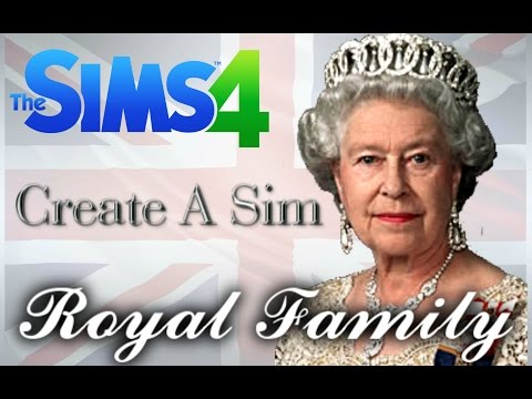 Sims 4: CAS: The Royal Family | Planet Plumbob