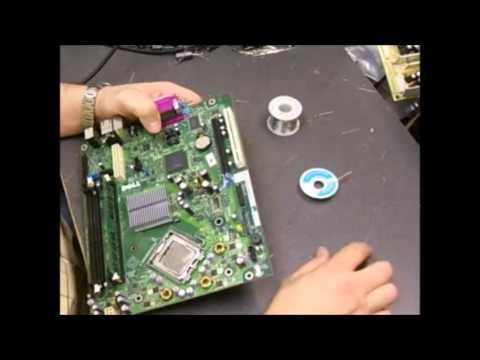 Dell Optiplex motherboard repair