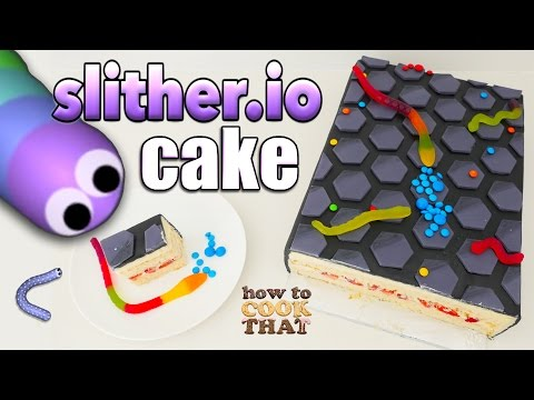 SLITHER.IO CAKE How To Cook That Ann Reardon slither leader board