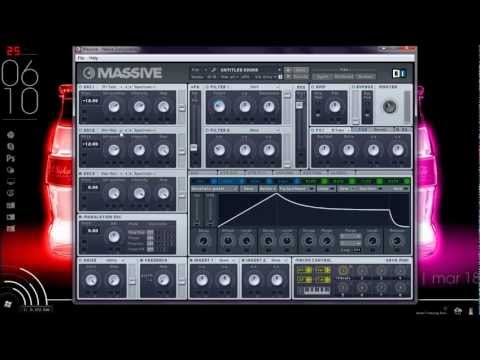 Skrillex Growl Bass Tutorial: Massive VST