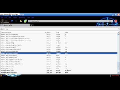 Increase Firefox browsing speed Tutorial