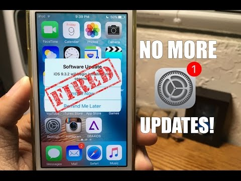 Get rid of Annoying Software Updates iPhone / iPad