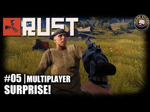 RUST | EP5 | Surprise! | Let's Play RUST Gameplay Multiplayer (S2)