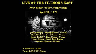 Track 9 Fair Chance To Know  NRPS   Live at the Fillmore East 4 28 1971
