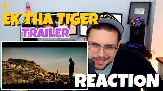 Ek Tha Tiger - Official Trailer | Salman Khan | Katrina Kaif | REACTION