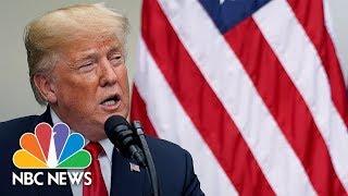 President Donald Trump Participates In Bill Signing   NBC News