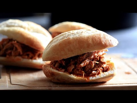 Spicy Slow Cooker Pulled Pork