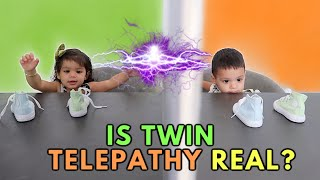 TWINS TRY THE TWIN TELEPATHY CHALLENGE!!! *YOU WON'T BELIEVE IT*