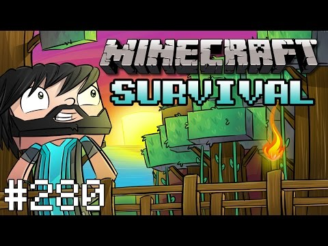 Minecraft : Survival - The Fourth Stronghold! - #280