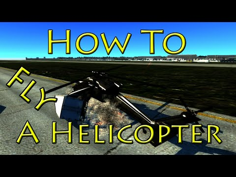 How To Fly and Crash A Helicopter In Beam NG Drive