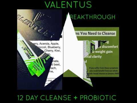 Valentus Breakthrough - 12 Day Cleanse to Detoxify