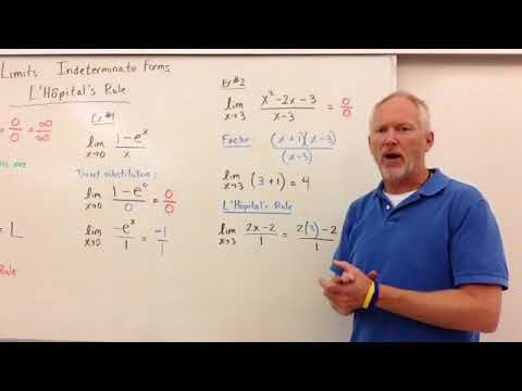 LImits Indeterminate form & L'Hopital's Rule