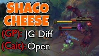 This Shaco cheese made the enemy want to FF at 3 minutes | Challenger Shaco - League of Legends