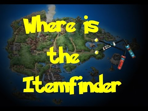 Where Is: The Itemfinder (Pokemon Ruby/Sapphire/Emerald)
