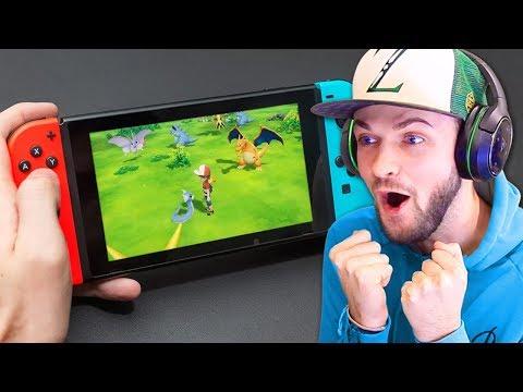 *NEW* Pokemon Nintendo Switch TRAILER! - (Pokemon Let's Go)