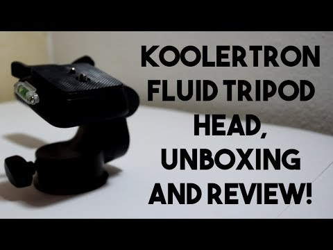 Koolertron Fluid Tripod Head Unboxing and Review!