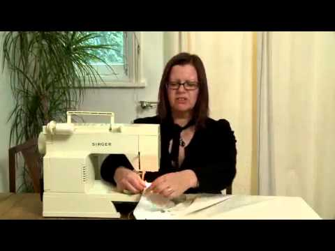 How To Line Your own Curtains at home.flv
