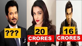 Shocking Salary and Age of Fanney Khan Movie Actors | Who is Playing Who in Fanney Khan Movie