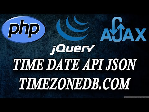 how to use time api from timezoneDB.com
