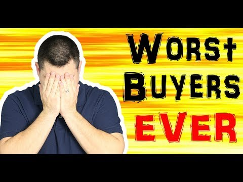 Items To NEVER Buy And Sell On Amazon FBA - Worlds Worst Buyers