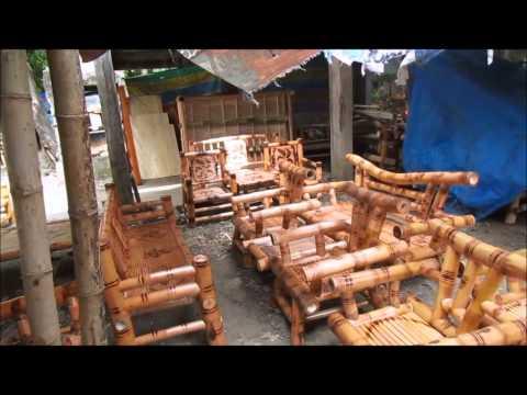 Philippine handmade bamboo and mahogany furniture here!